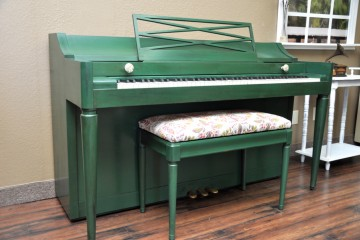 Baldwin spinet acoustic upright piano used for sale rent rental chandler tempe scottsdale gilbert mesa arizona phoenix my first gallery az